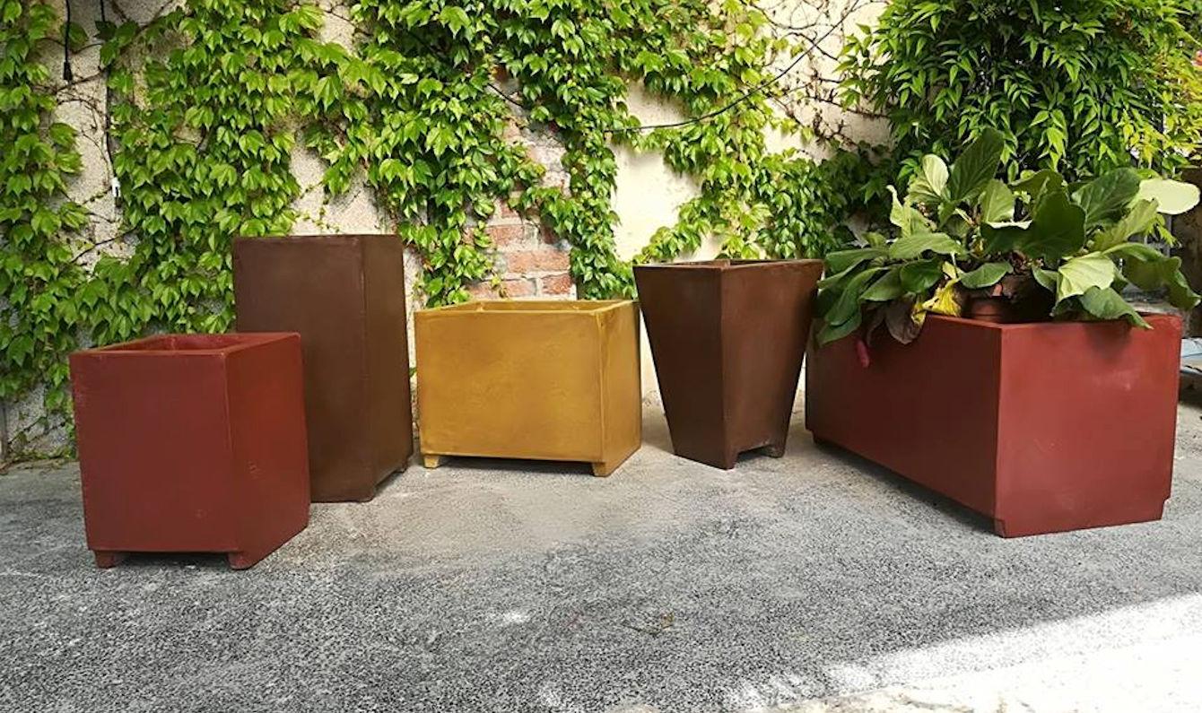 Vasi in cemento alleggerito